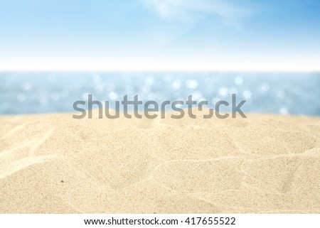 sea and sky and water and travel time  #417655522