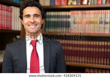 Smiling lawyer portrait #418304131