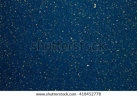 Abstract Blue Background with Yellow Dots