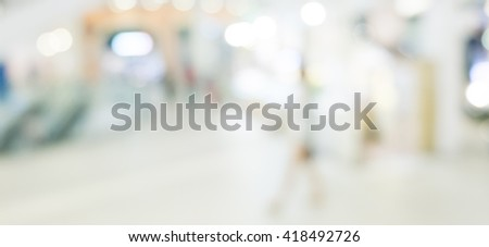 Abstract background - people shopping and walking #418492726