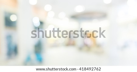 Abstract background - people shopping and walking #418492762