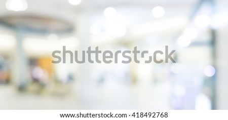 Abstract background - people shopping and walking #418492768