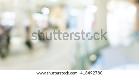 Abstract background - people shopping and walking #418492780