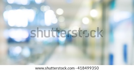 Abstract background - people shopping and walking #418499350
