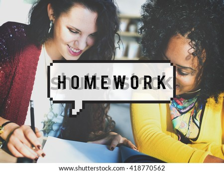 Homework Education Academic Learning Study Concept #418770562