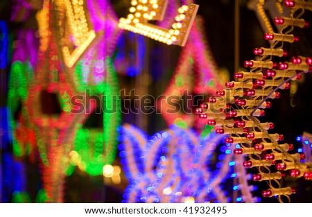 Abstract holiday illumination #41932495