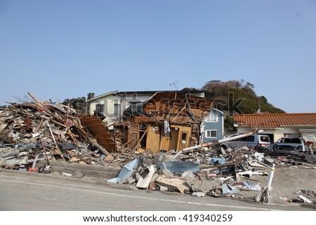 earthquake,tsunami,japan,311 #419340259