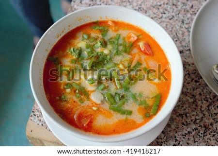 tom yum soup #419418217