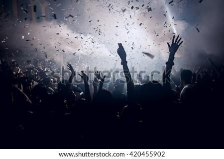 dj concert Royalty-Free Stock Photo #420455902