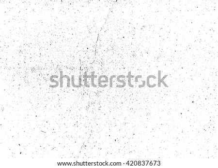 Scratched paper or distressed cardboard vector texture overlay. Subtle grain abstract black and white grunge background #420837673