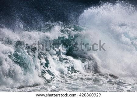 Ocean Wave #420860929