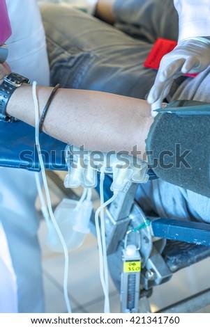 Blood donation #421341760
