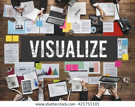 Visualize Creative Thinking Creativity Design Concept