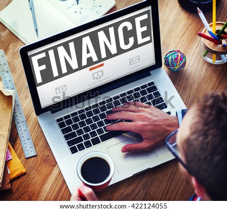 Finance Accounting Banking Economy Money Concept #422124055