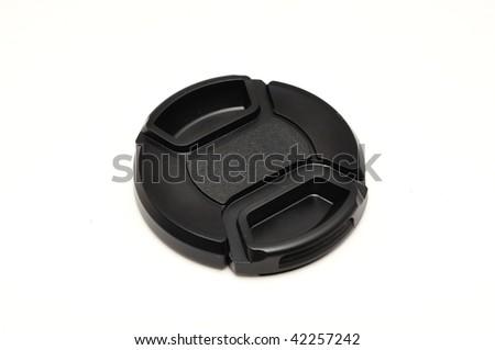 Lens cap isolated on white background #42257242