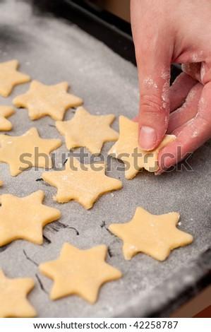 Making christmas cookies #42258787