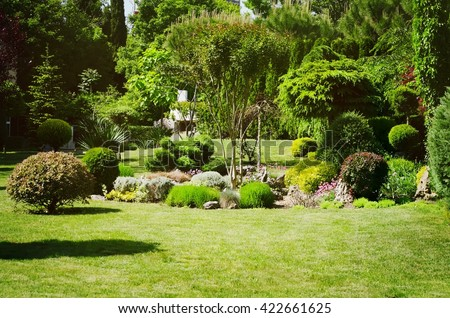 Photo of the Gardening and Landscaping With Decorative Trees and Plants #422661625