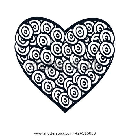 heart love design  #424116058