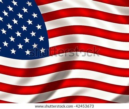 pride and glory usa flag #42453673