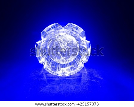 selective focus of LED torch light, crystal light #425157073
