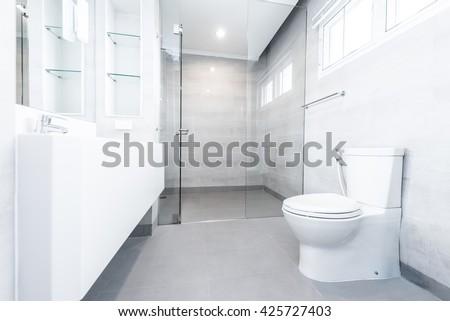 White toilet bowl #425727403