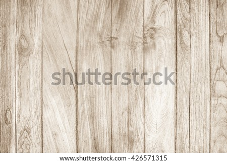 Wood plank brown texture background. wood all antique cracking furniture painted weathered white vintage peeling wallpaper. #426571315