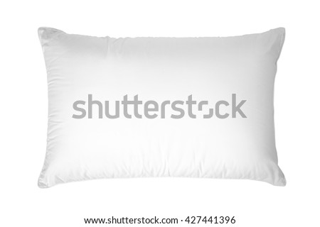 white pillow, Isolated on white background. #427441396
