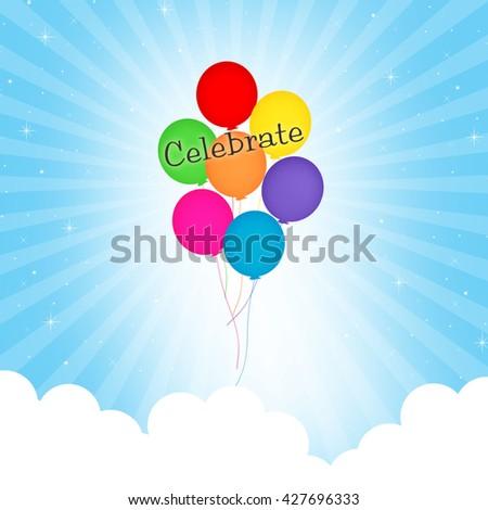 Balloons - Celebrate