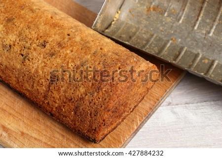 Raisin butter cake #427884232