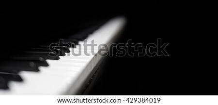 Piano and Piano keyboard