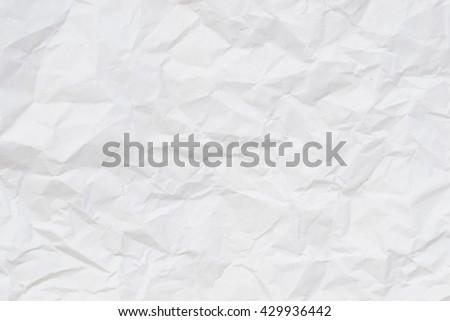 white crumpled paper texture background.    Royalty-Free Stock Photo #429936442