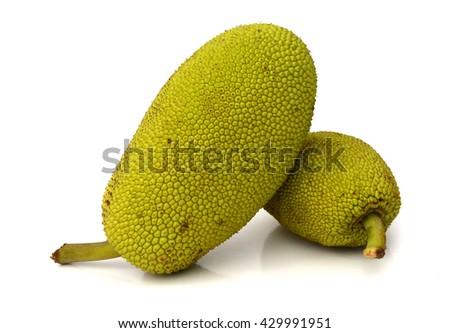 jack fruit on white background #429991951