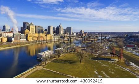 Saint Paul City in Minnesota
