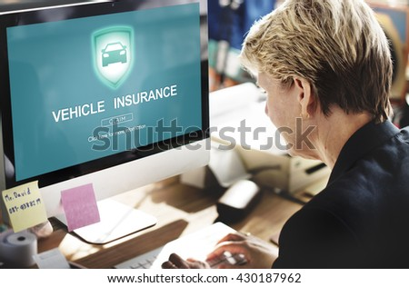 Vehicle Insurance Accident Damage Protection Concept #430187962