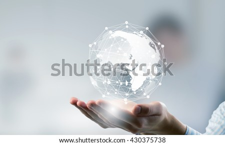 Technologies connecting the world Royalty-Free Stock Photo #430375738