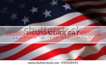 We congratulate the United States of America Independence Day #430468441