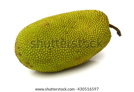 jackfruit isolated on white background #430516597