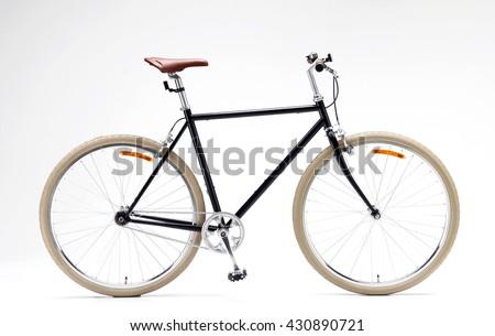 Urban Bike Isolated on white background. Bicycle