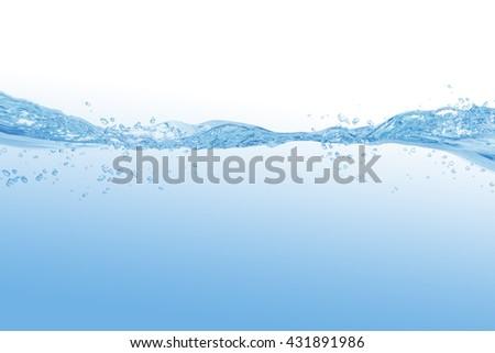 water splash isolated on white background #431891986