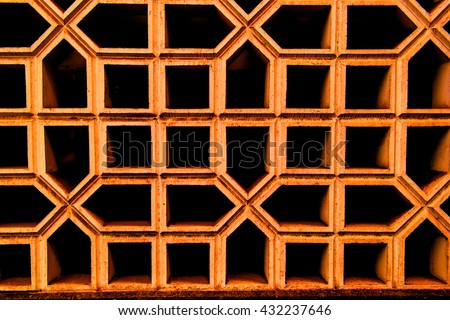 Dark background consisting of black pentagons and squares on white contours. Photography can be used for creating textures, graphics editors, postcards. invitations and unique design
