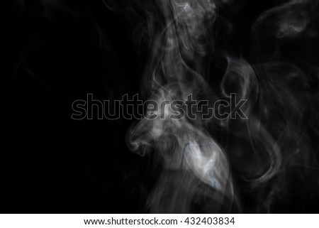 pure smoke on dark background. comfortable and easy to use for process any picture. #432403834