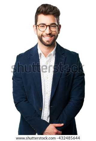 young man smiling #432485644