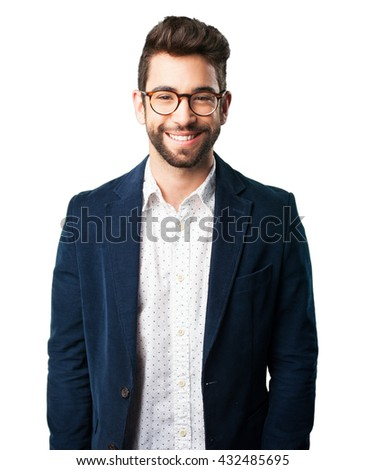 young man smiling #432485695