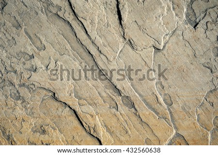 The relief sandstone structure , background, texture #432560638