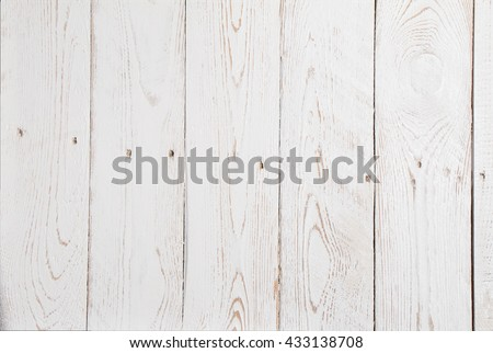 White Wood background with structures and Copy Space for the design #433138708