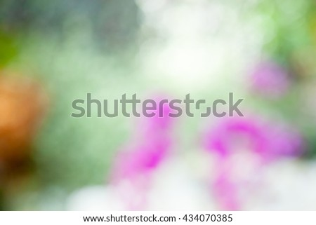 Colorful natural blurred background abstract #434070385