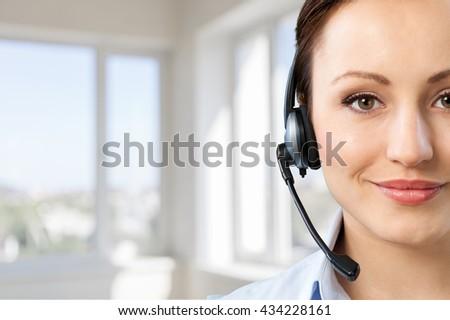 Call Center. #434228161