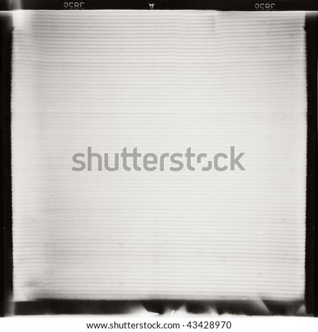 medium format BW film frame, may use as background