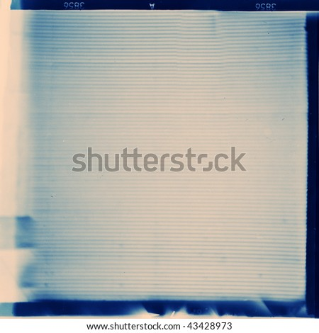 medium format film frame, may use as background
