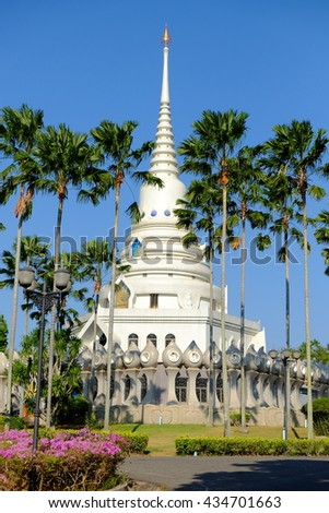 Temple and the trees #434701663